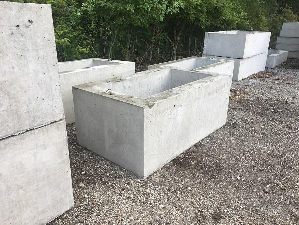 Precast Concrete Catch Basin Tularosa Basin 2017