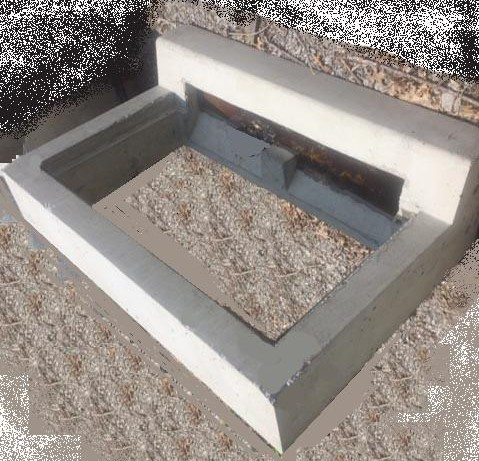 C Top Concrete Ring for 2x4 Catch Basin