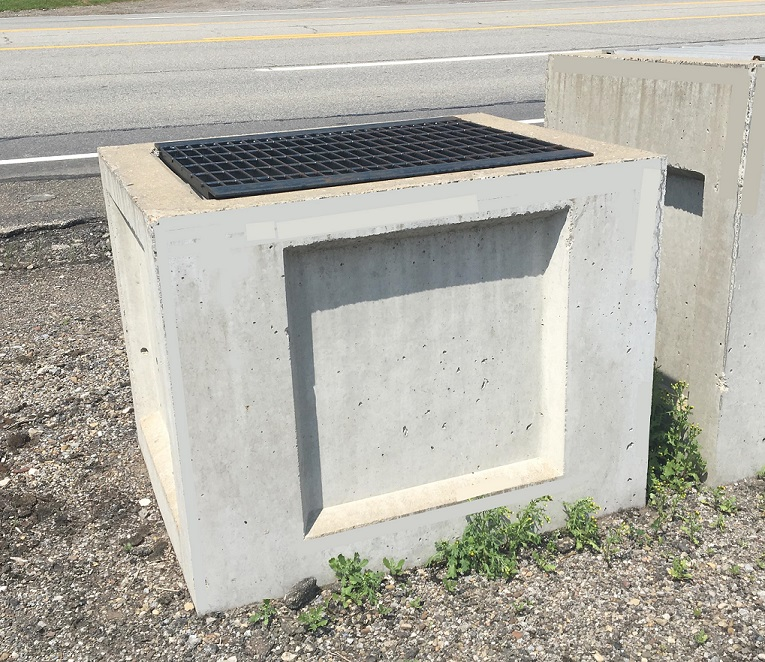 "22x30x24"" Catch Basins with Angle Grate"