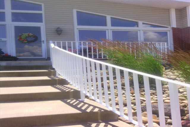 Custom Aluminum and Iron Railings